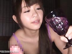 Amateur Asian Babe Blowjob Cumshot