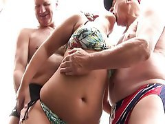 Facial Group Sex Old and Young