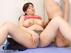 Asian Big Tits Creampie MILF