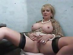 BBW Big Nipples Close Up Mature