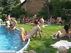 Amateur Czech Group Sex