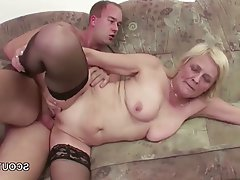 Facial Granny Hardcore Stockings Teen