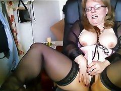 BBW Big Boobs German Masturbation Orgasm