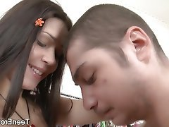 Brunette Facial Hardcore Small Tits Teen