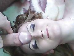 Amateur Cumshot Facial Homemade Girlfriend