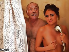 Blowjob Teen Old and Young Big Butts
