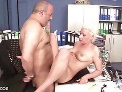 Blonde Blowjob Hardcore MILF German