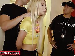 Blonde Blowjob Teen POV Bondage
