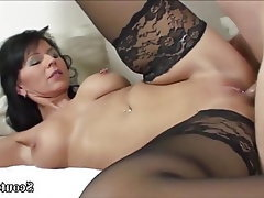 Teen Stockings MILF Old and Young German