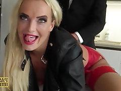 Anal Blonde BDSM Big Cock