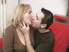 Blowjob Cumshot Mature Old and Young Strapon