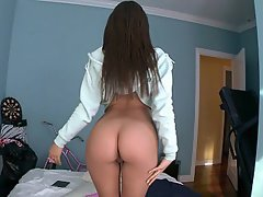 Ass Licking Brunette Dildo Reality Teen
