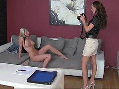Amateur Babe Big Tits Blonde Casting