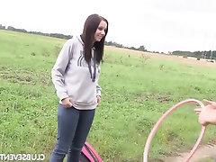 Big Tits Blowjob Public Teen