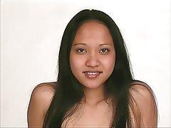 Brunette Asian Big Boobs Lingerie