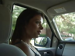 MILF Blowjob Big Boobs Brunette Outdoor