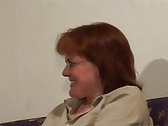 Amateur Hairy Old and Young Redhead Stockings