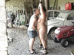 BDSM Bondage Old and Young Orgasm